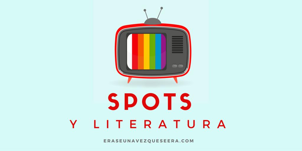 spots de televisión inspirados en la literatura