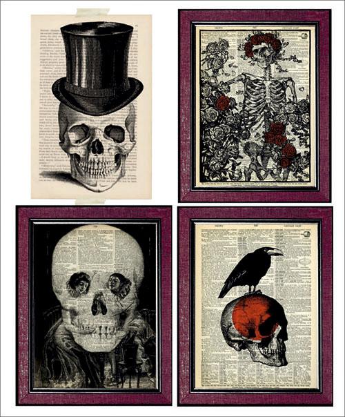 Cuadros literarios de Halloween