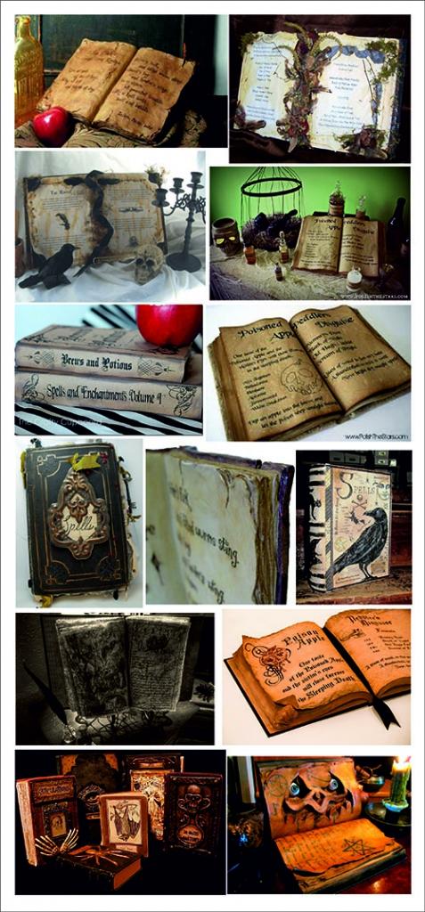 Libros de hechizos