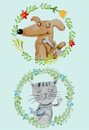 Novelas sobre perros y gatos