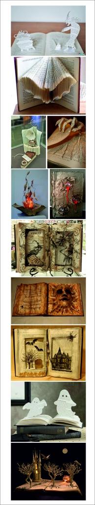 Pop-ups de Halloween en libros