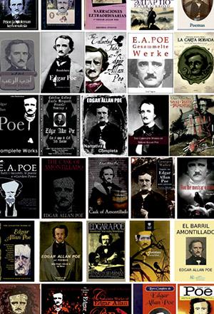 Portadas con Edgar Allan Poe