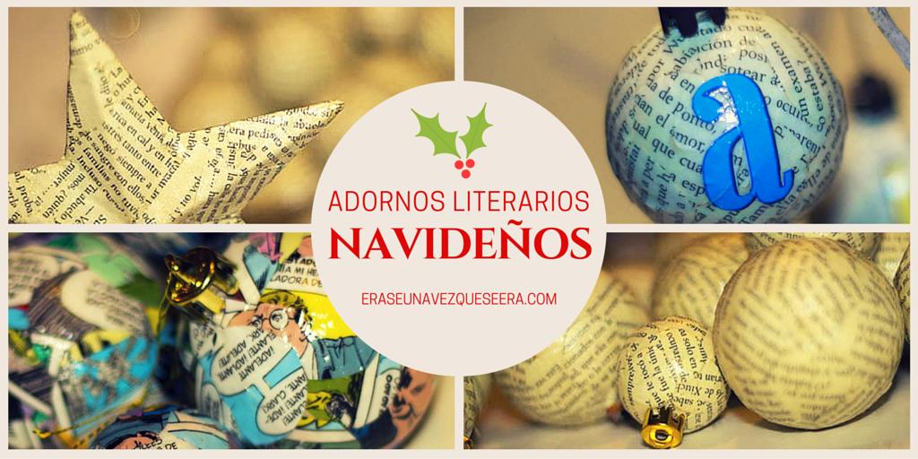 Adornos literarios navideños