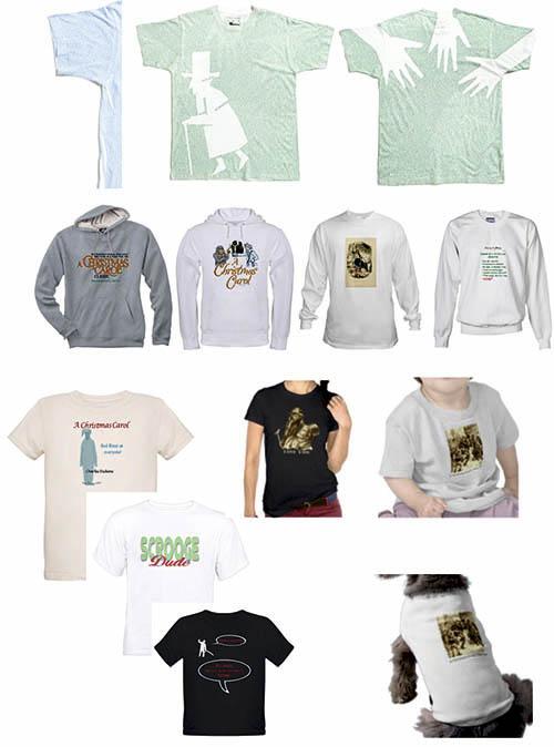 Camisetas inspiradas en Canción de Navidad