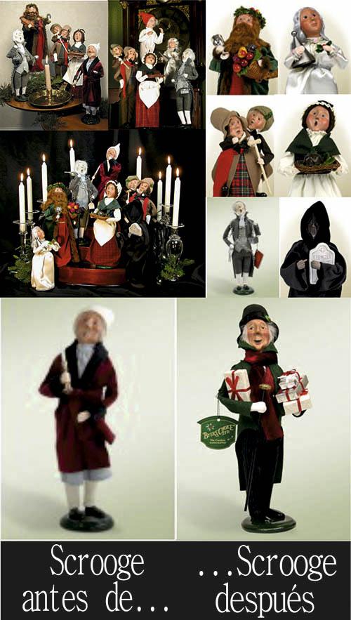 Figuritas de Canción de Navidad