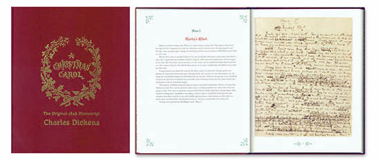 Primera edición de Canción de Navidad
