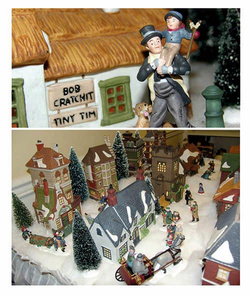 Pueblo de Canción de Navidad
