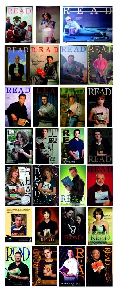 Famosos actores en campañas de READ