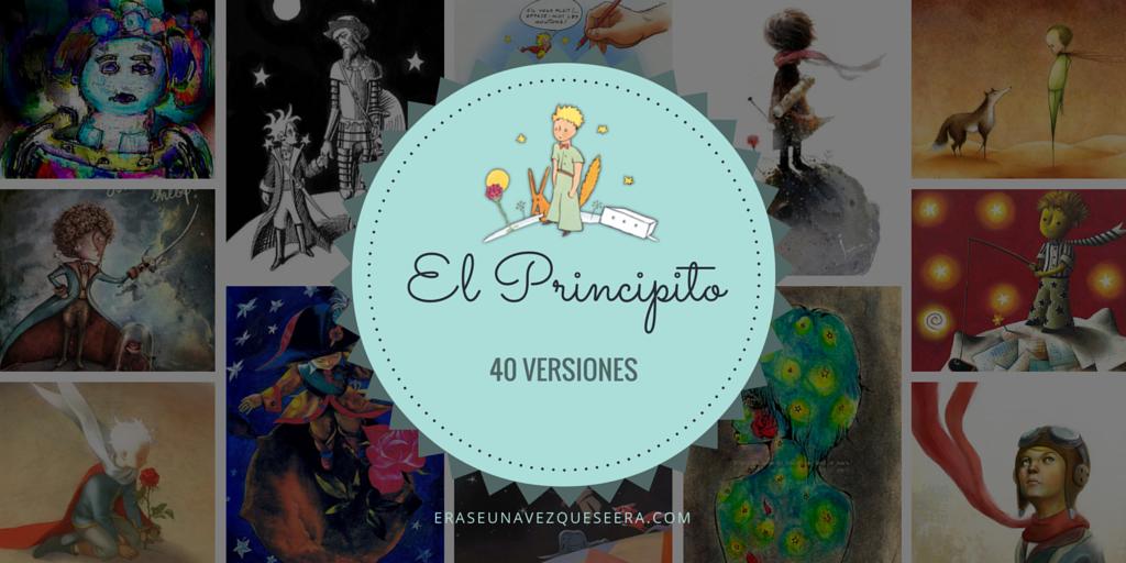 40 versiones de El Principito.
