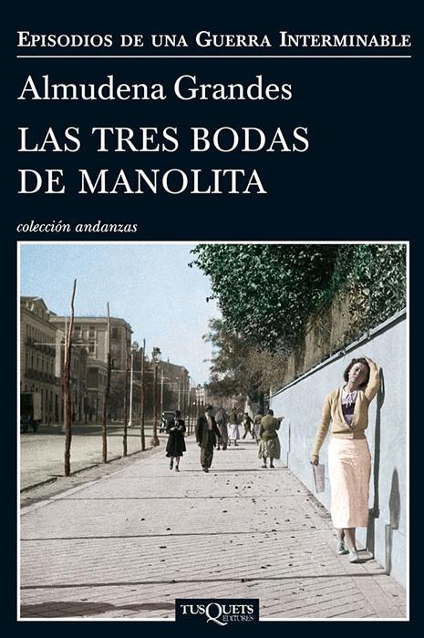 el libro de Almudena Grandes, trilogía sobre la guerra civil