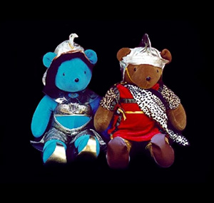 Antonio y Cleopatra teddy bear