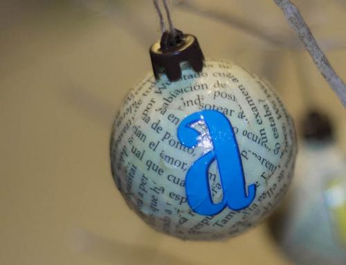 Adornos literarios por Navidad
