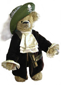 Capitan garfio teddy bear