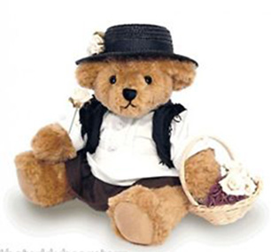 Eliza Doolittle teddy bear