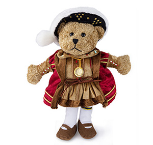 Enrique VIII Shakespeare teddy bear