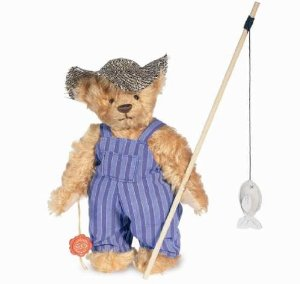 Huckleberry Finn teddy bear
