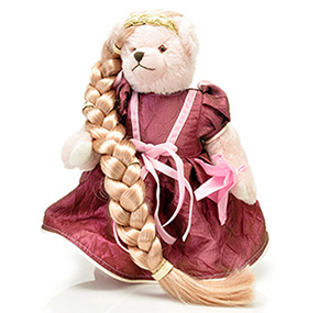 Rapunzel teddy bear2
