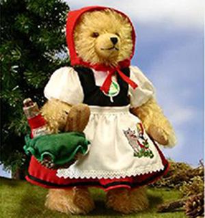 caperucita roja teddy bear