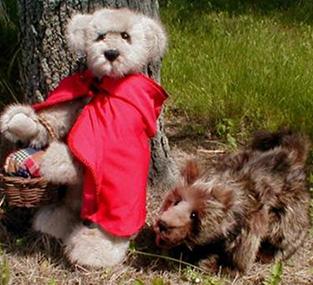 caperucita roja teddy bear3
