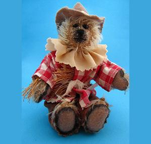 el espantapájaros teddy bear