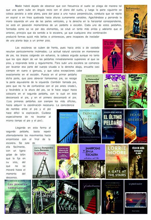 Novelas con escaleras en su portada