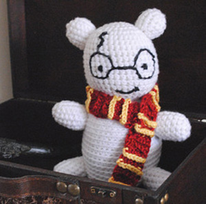 El teddy bear de Harry Potter