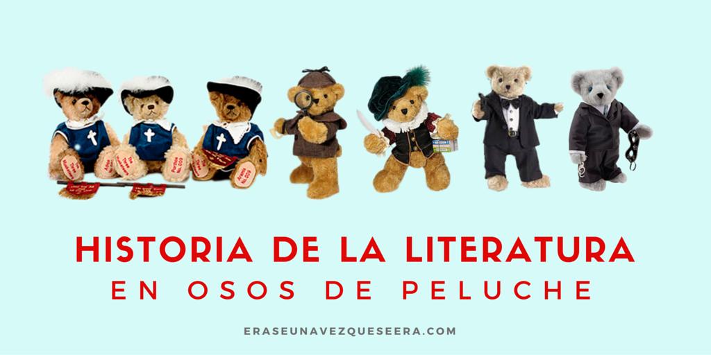Historial de la literatura a través de osos de peluche
