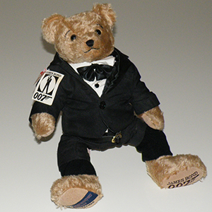 James Bond oso de peluche
