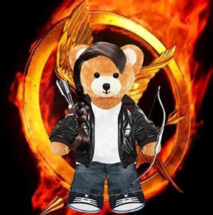 Katniss Everdeen la protagonista de Los juegos del hambre
