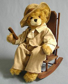 mark twain teddy bear