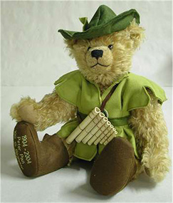 peter pan teddy bear