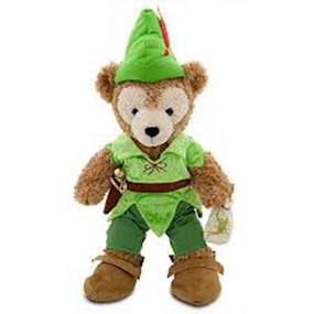 peter pan teddy bear2