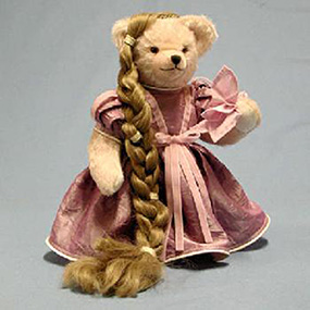 rapunzel teddy bear