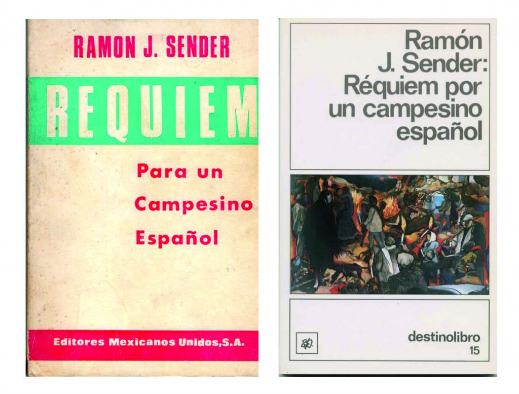 Error en el título de la novela de Ramón J. Sénder