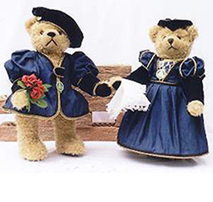 romeo y julieta teddy bear