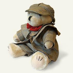 sherlock holmes teddy bear2