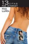 Portada de la novela de Mac Lupén, 13 citas por internet