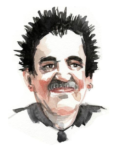 Retrato de Gabriel García Márquez como estrella de rock