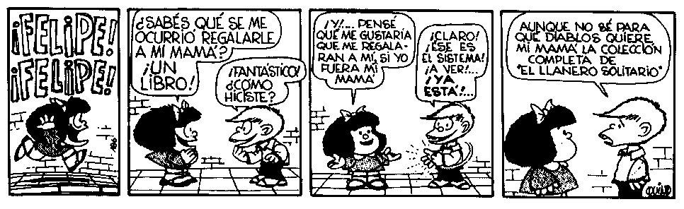 Mafalda y los libros