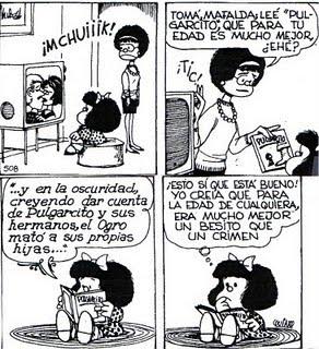 Mafalda pulgarcito