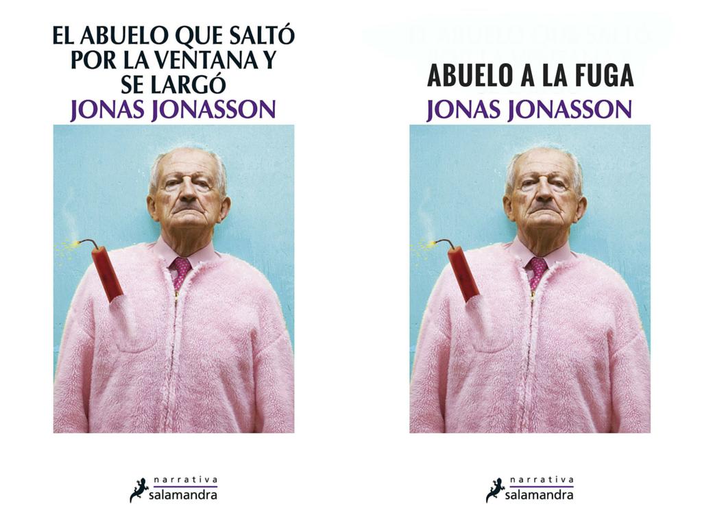 Título de novela adaptado para Twitter: el abuelo que saltó por la ventana y se largó