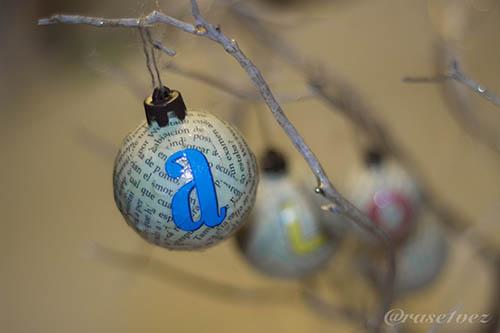 bola navideña a