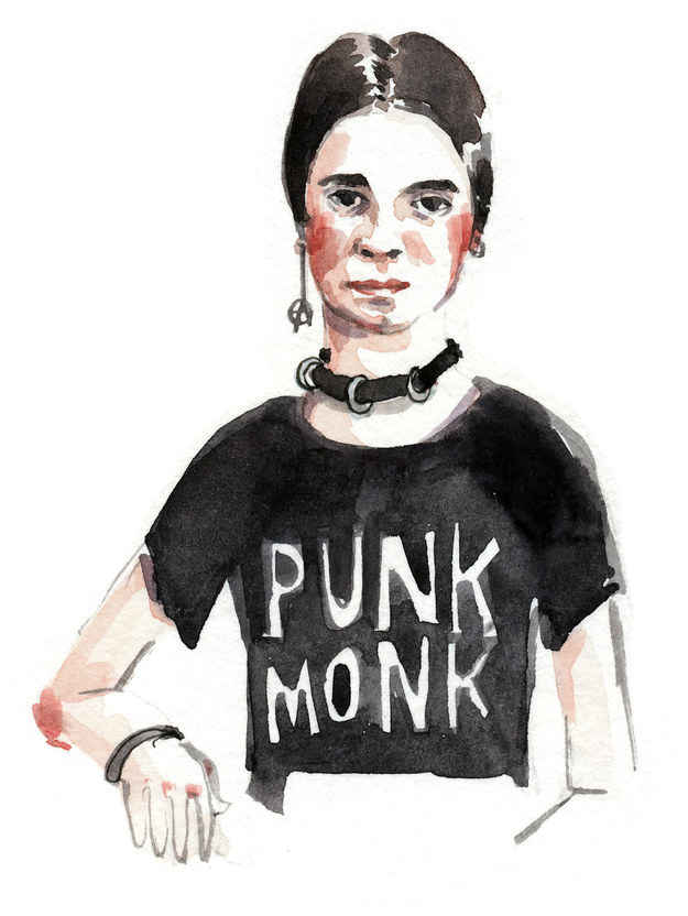 Emily Dickinson como una punk rock star