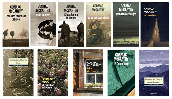 Las portadas de Cormac McCarthy se caracterizan por su tristeza