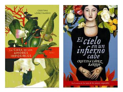 En las portadas de Cristina López Barrio, surrealismo, flora y fauna