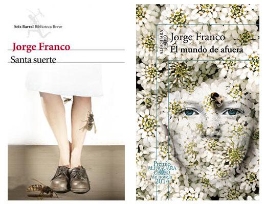 Las portadas de Jorge Franco, con avispas y abejas