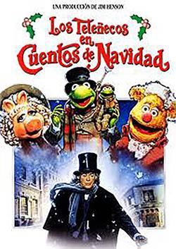 """""""Los Teleñecos en Cuentos de Navidad"""", de 1992 (Para mí siempre serán """"LosTeleñecos""""; no me acostumbro a """"Los Muppets""""). Michael Caine da vida a Scrooge."""