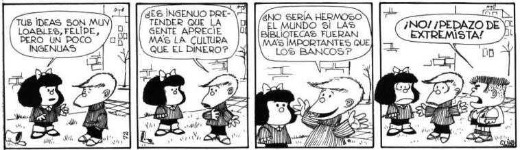 mafalda biblioteca