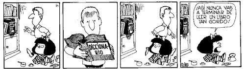 mafalda diccionario