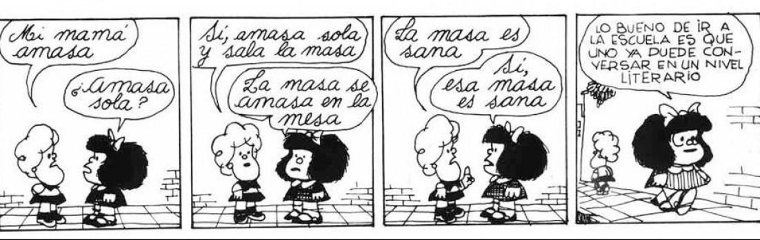 mafalda nivel literario
